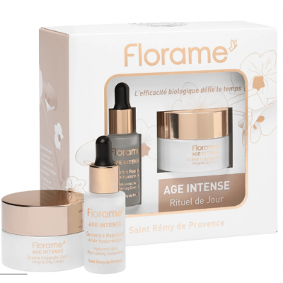 FLORAME Age Intense Day Ritual Set 有機蘭花日間修護套裝
