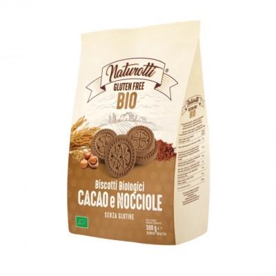 Naturotti Organic 意大利有機無麩質健康美味可可榛子曲奇餅300G