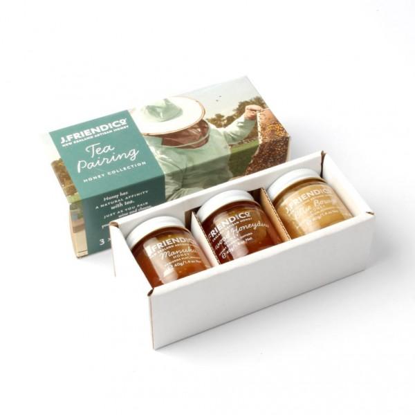 J.Friend Tea Pairing Honey Collection (茶之伴侶)  蜂蜜 40gX3