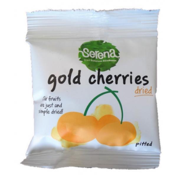Serena Natural Dried Sweet Gold Pitted Cherries 30g 天然無添加金櫻桃(金車厘子)去核乾果 30克