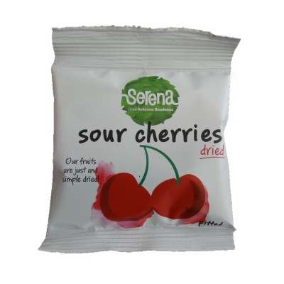 Serena Natural Dried Sour Pitted Cherries 30g 天然無添加酸櫻桃 (酸車厘子)去核乾果 30克