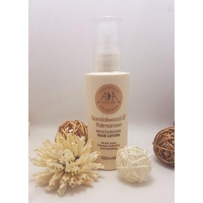 英國 Amphora Aromatics 檀香玫瑰草保濕 Face Lotion 100ml (適合所有膚質)