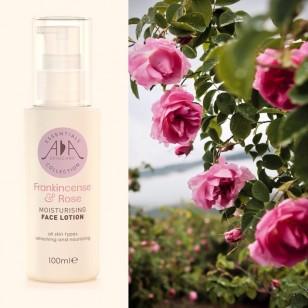 英國 Amphora Aromatics 乳香玫瑰精油保濕 Face Lotion 100ml (適合成熟及乾性皮膚)