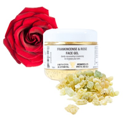 英國 Amphora Aromatics 乳香玫瑰精油 Face Gel 100ml (適合成熟及乾性皮膚)