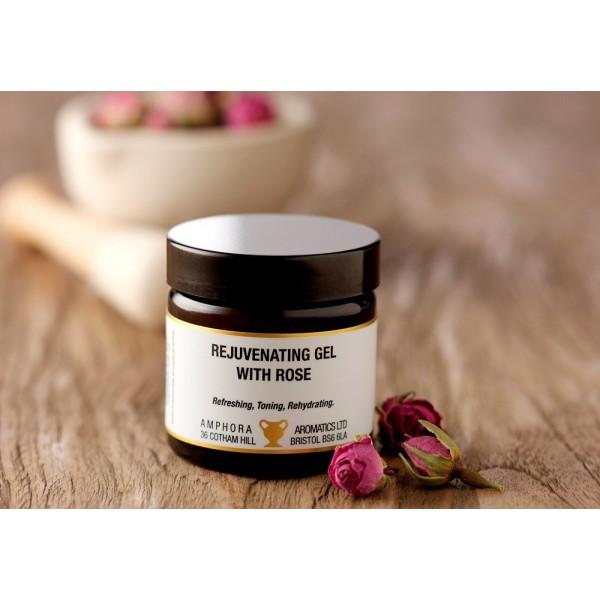 英國 Amphora Aromatics 玫瑰活膚 Face Gel 60ml (適合任何肌膚)