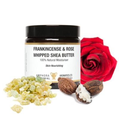 英國 Amphora Aromatics   乳香玫瑰乳木果油 Moisturizer 120ml (面部身體適用)