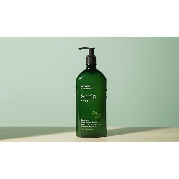 Aromatica 迷迭香強韌更新洗髮水 400ml