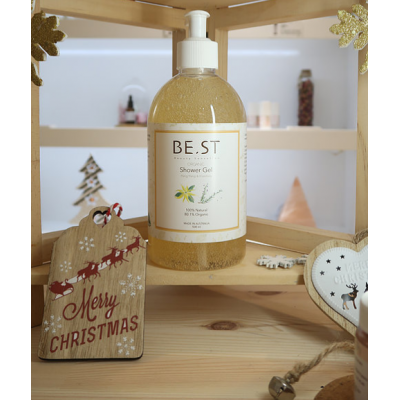 BE.ST Beauty Sensation Organic Shower Gel 香檳沐浴泡泡 500ml (3送1)