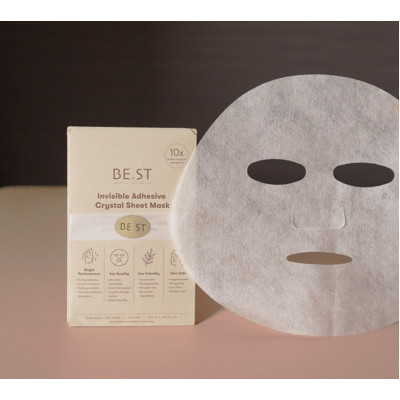BE.ST Beauty Sensation 隱形緊緻冰凝面膜紙(4片/套) 套裝