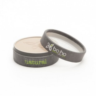 Boho Green Makeup 有機礦物定妝粉餅 #2 Beige Clair