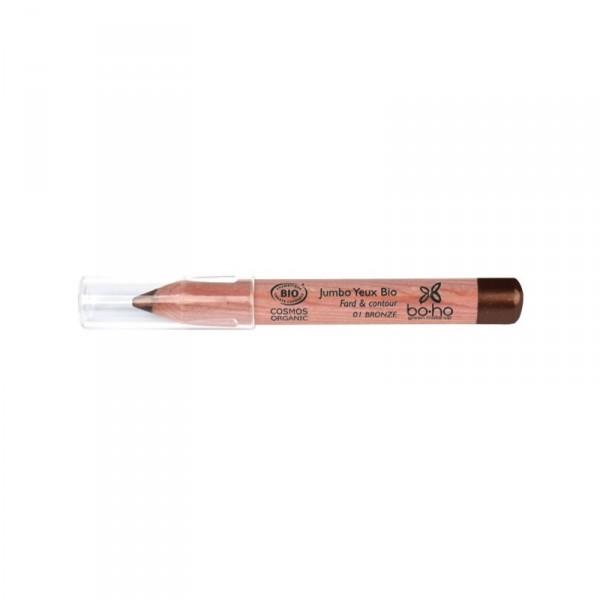 Boho Green Makeup 有機二合一眼影眼線筆 #1 Bronze 古銅色