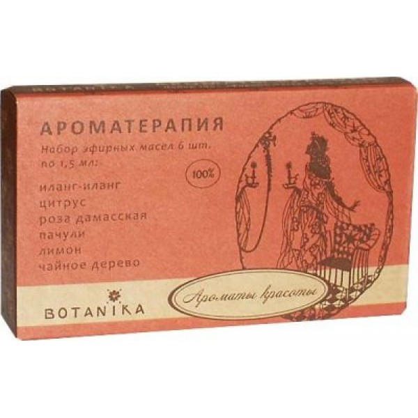 Botanika - AROMAS OF BEAUTY essential oils set (1.5ml x 6pcs)