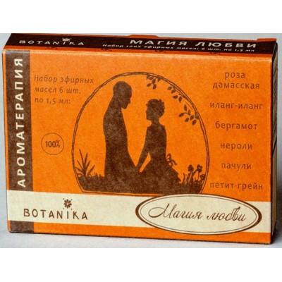 Botanika - MAGIC OF LOVE essential oils set (1.5ml x 6pcs)