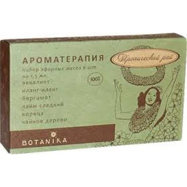 Botanika - TROPICAL PARADISE essential oils set (1.5ml x 6pcs)