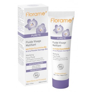 Florame  Purete 三色紫羅蘭控油抗痘系列
