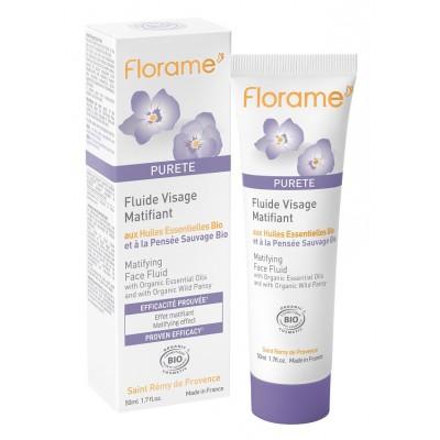 Florame Purete 有機三色紫羅蘭啞光控油面霜 50ml