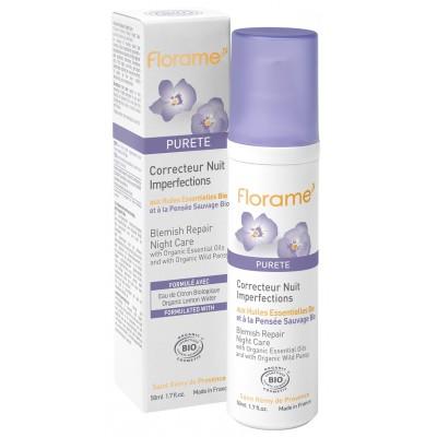 Florame Purete 有機三色紫羅蘭去痘修復晚霜 50ml