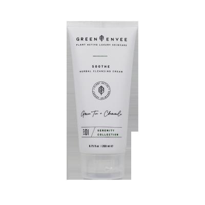 Green Envee 01 SOOTHE HERBAL CLEANSING CREAM 溫和草本潔面乳 (200ML)