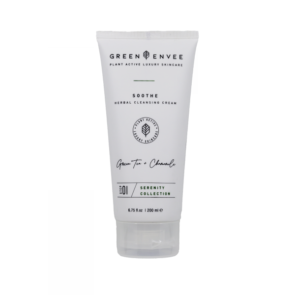 Green Envee 01 SOOTHE HERBAL CLEANSING CREAM 溫和草本潔面乳 (200ML)