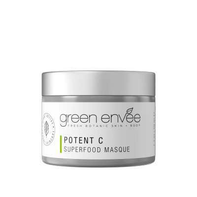 Green Envee 10 POTENT C SUPERFOOD MASQUE 超級抗氧草本面膜 (50ML)