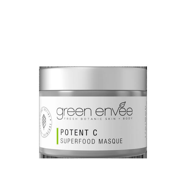 Green Envee 10 POTENT C SUPERFOOD MASQUE 超級抗氧草本面膜 (50ML)