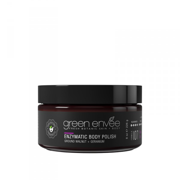 Green Envee 107 ENZYMATIC BODY SCRUB 柔滑⾝體磨砂 (226g)