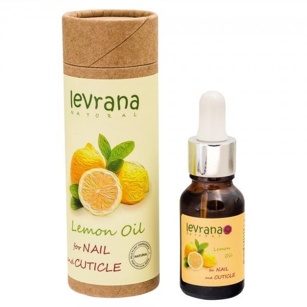 Levrana (LVA) 100%全天然甲沿油/指緣油 (檸檬)15ml