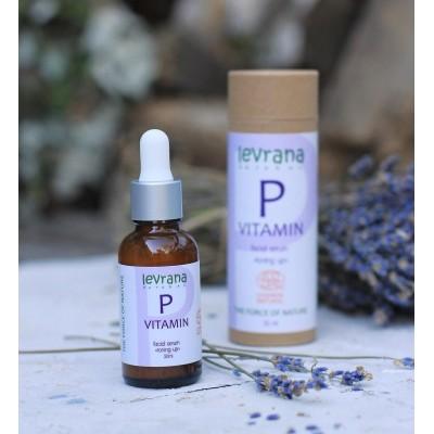 Levrana Vitamin P 舒敏抗氧乳液精華 (面眼適用) 30ml