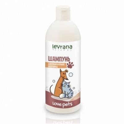 Levrana 全天然貓狗專用抗菌洗髮液  500ml