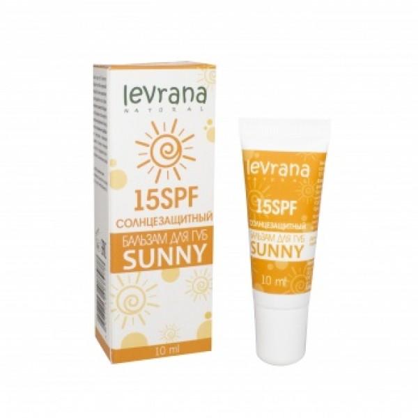 "Levrana ""SUNNY"" SPF15 物理防曬潤唇膏 10ml"