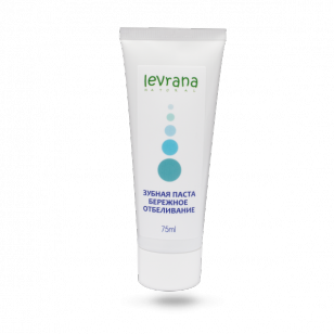 Levrana (LVA) 天然牙膏 (溫和美白) 75ml