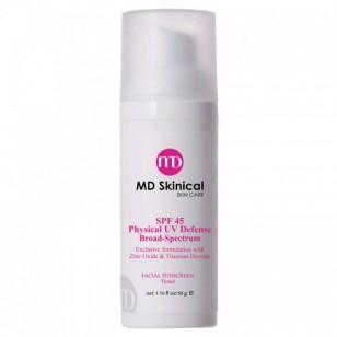 MD SKINICAL 高效物理性防曬霜SPF45 (有色)  50g