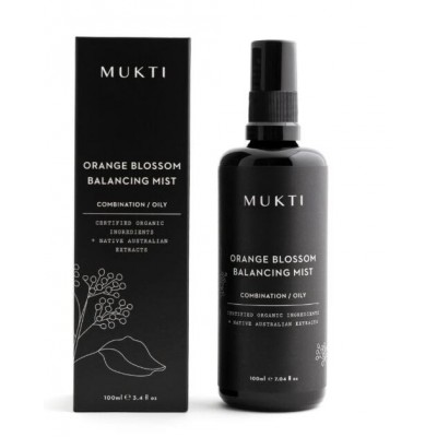 MUKTI Organics 有機橙花平衡噴霧 Orange Blossom Balancing Mist 100ml