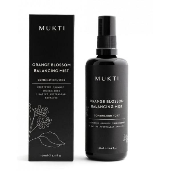 MUKTI Organics 有機橙花平衡噴霧 Orange Blossom Balancing Mist 100ml