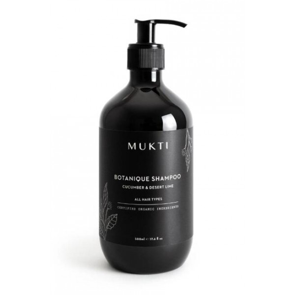 MUKTI Organics 天然草本洗髮水 Botanique Shampoo 500ml