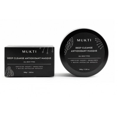 MUKTI Organics 有機深層潔淨面膜 Deep Cleanse Antioxidant 100ml