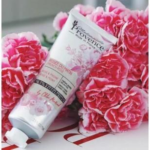 Mademoiselle Provene 雙手潤澤乳霜 – 法國玫瑰和牡丹 75ml