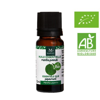 Mességué Laboratories 有機胡椒薄荷精油 10ml