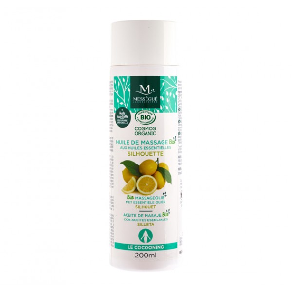 Mességué Laboratories Organic Massage Oil Silhouette 有機修身排毒抗橙皮紋按摩油 200ml