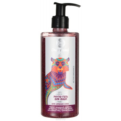Natura Siberica *Crazy Animals* Shower Gel At the World's End - 放鬆, 有助睡眠