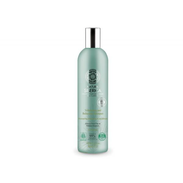 Natura Siberica 有機山松紅桑子豐盈平衡 洗髮乳 適合油性髮質