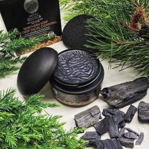 Natura Siberica 活性炭深層潔淨排毒黑皂面膜