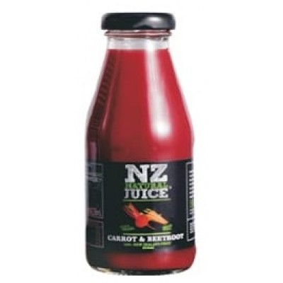 NJ Natural Juice Carrot & Beetroot Juice 蘋果紅菜頭甘荀汁250ml