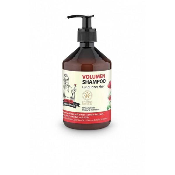 OMA Gertrude (格特魯德)VOLUME SHAMPOO  有機蔓越莓和有機小麥 (適合柔弱纖細髮質) 500ML