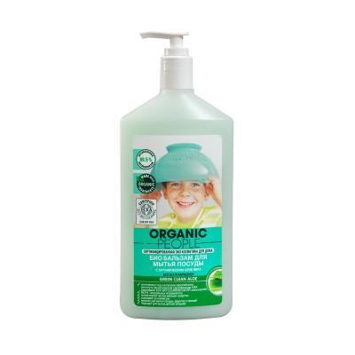 Organic People 有機人蘆薈洋甘菊碗碟清潔Gel 500ml