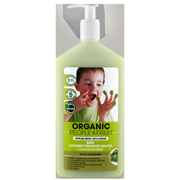 Organic People 有機橄欖全效清潔劑 500ml