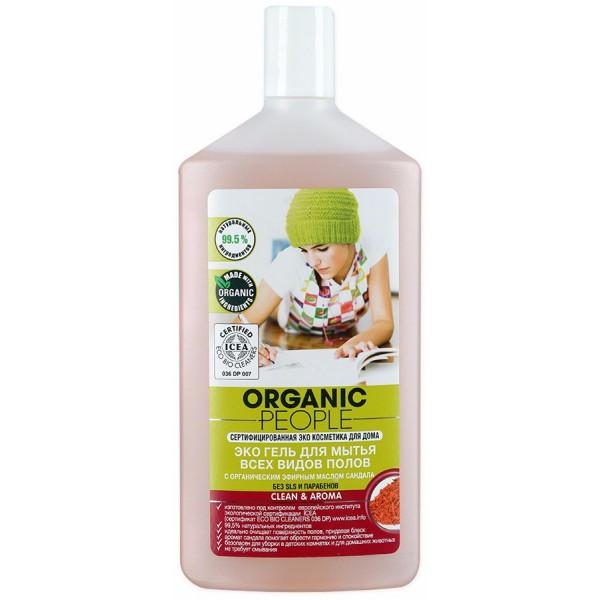 Organic People 有機人檀香薰衣草地板清潔劑 (所有地板適用) 500ML