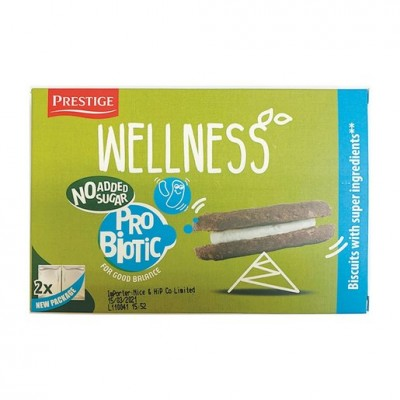 Prestige Wellness 低糖低鹽燕麥益生菌夾心餅 69g Probiotic Sandwich Biscuits 69g