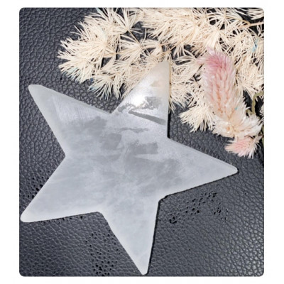 RL Organic Selenite 透石膏星星擺件