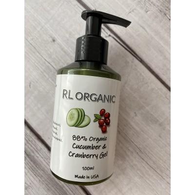 RL Organic 有機青瓜蔓越莓蘆薈啫喱100ml
